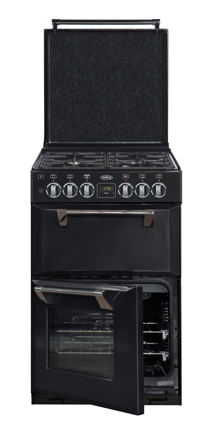 The Mini Richmond 54 cookers have a twin cavity oven, with temperature independently controlled, you can cook a feast in no time. #Belling #UKmade #madeinBritian #British #cooker