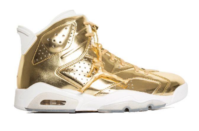 The Air Jordan 6 Pinnacle Metallic Gold Drops Next Weekend