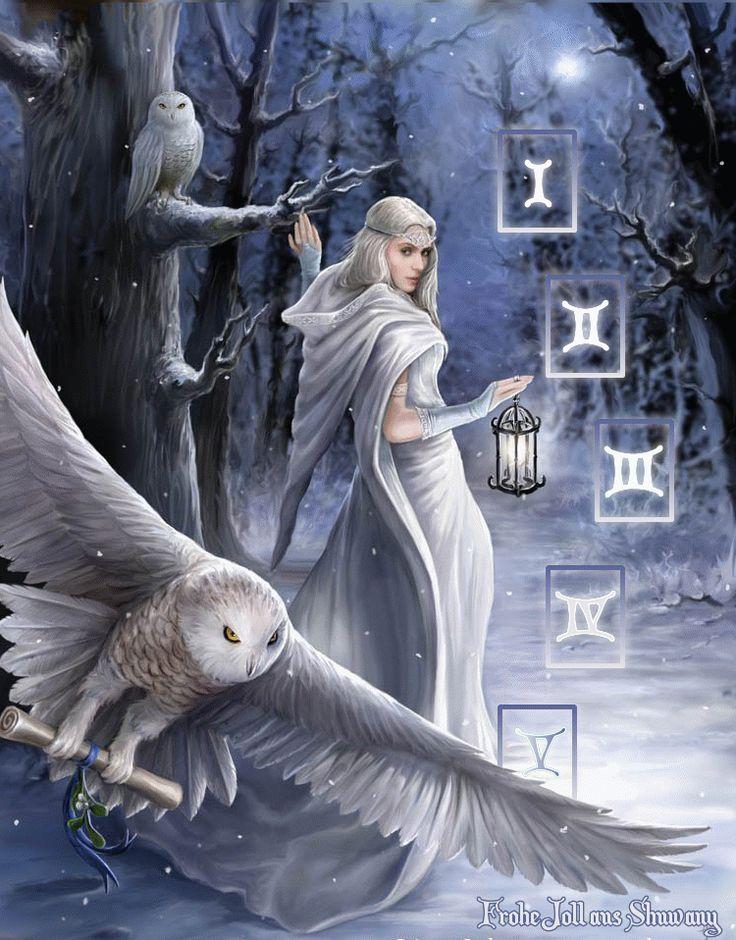 Расклад «Йольская звезда» | Магия Шувани