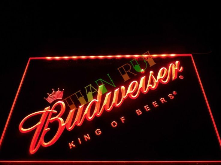 Man Cave Neon Signs For Sale : Bud light neon sign mancave staple