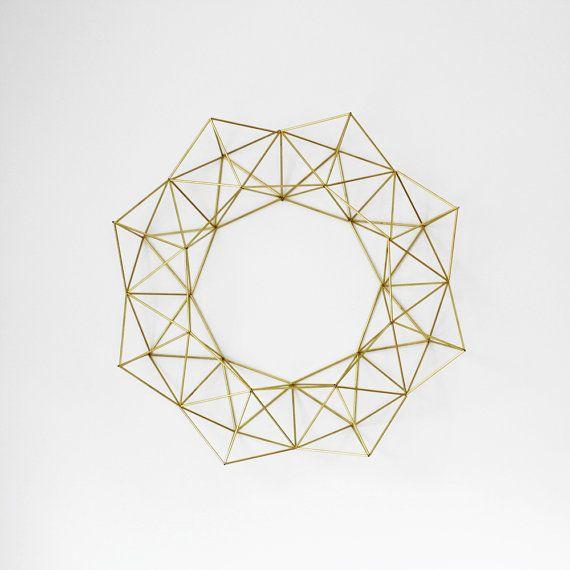 geometric wreath by HRUSKAA