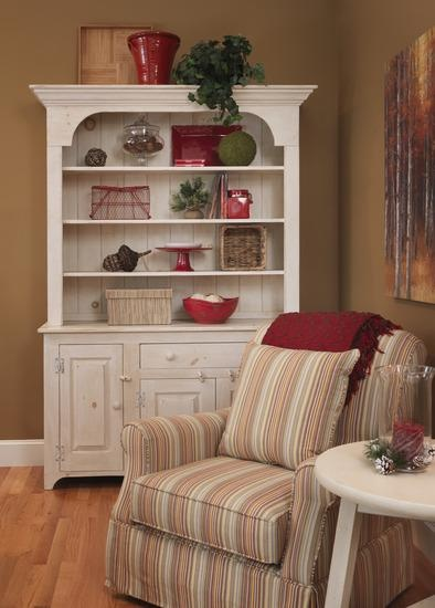 33 best images about open shelf hutches on pinterest for Modern living room hutch