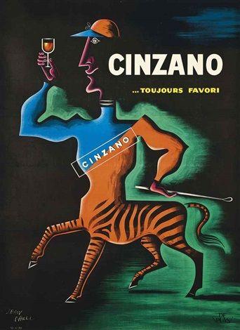 Jean Carlu Cinzano, 1950