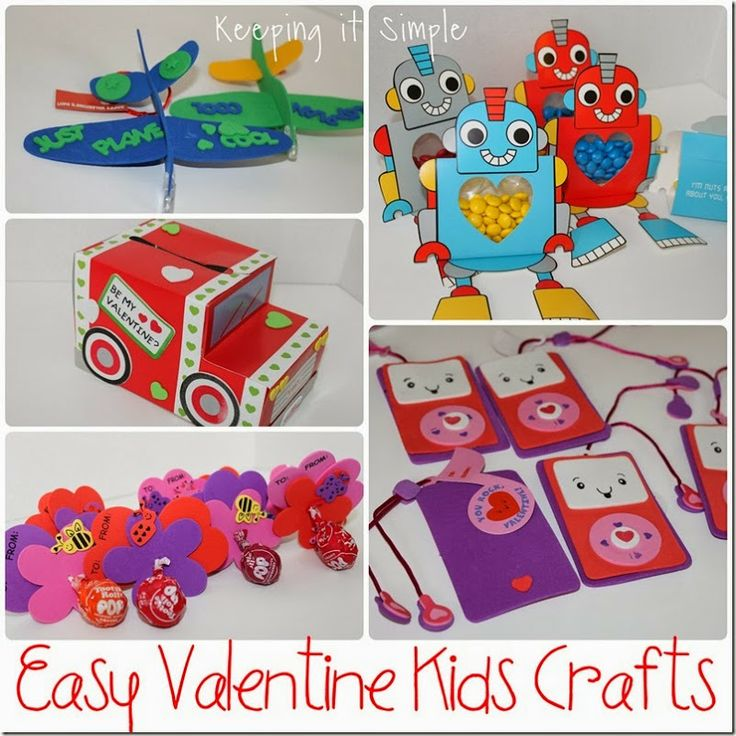 Keeping it Simple: Easy Valentines Day Kids Crafts #kidscrafts #valentinesday #keepingitsimple