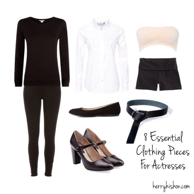 8 Essential Clothing Pieces For Actresses | kerryhishon.com