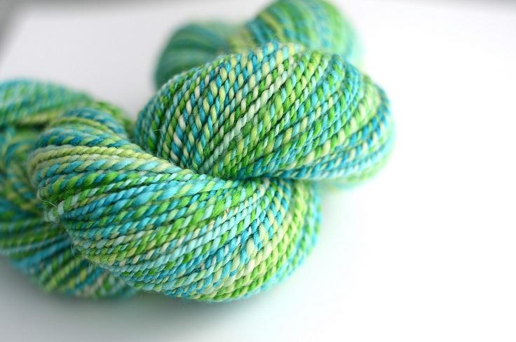 Handspun Yarn : Handspun yarn Spinning Yarn Pinterest
