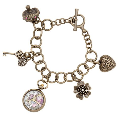 Alice in Wonderland Charm Bracelet Watch | Watches | Disney Store