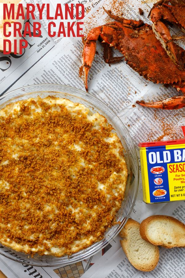 Mix up the classic crab cake recipe with Maryland OLD BAY Crab Cake Dip. Loaded with a full pound of lump crabmeat, this creamy party dip gets its savory flavor from Maryland's own OLD BAY Seasoning – a world-famous blend of celery salt, herbs and spices. Fun, easy and flavorful, it's a party menu must from coast to coast.
