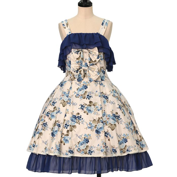Worldwide shipping available ♪ Blue Rose Soft Pleat Dress ATELIER-PIERROT https://www.wunderwelt.jp/en/products/w-20957  IOS application ☆ Alice Holic ☆ release Japanese: https://aliceholic.com/ English: http://en.aliceholic.com/