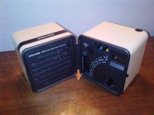 Radio Cubo by Brionvega