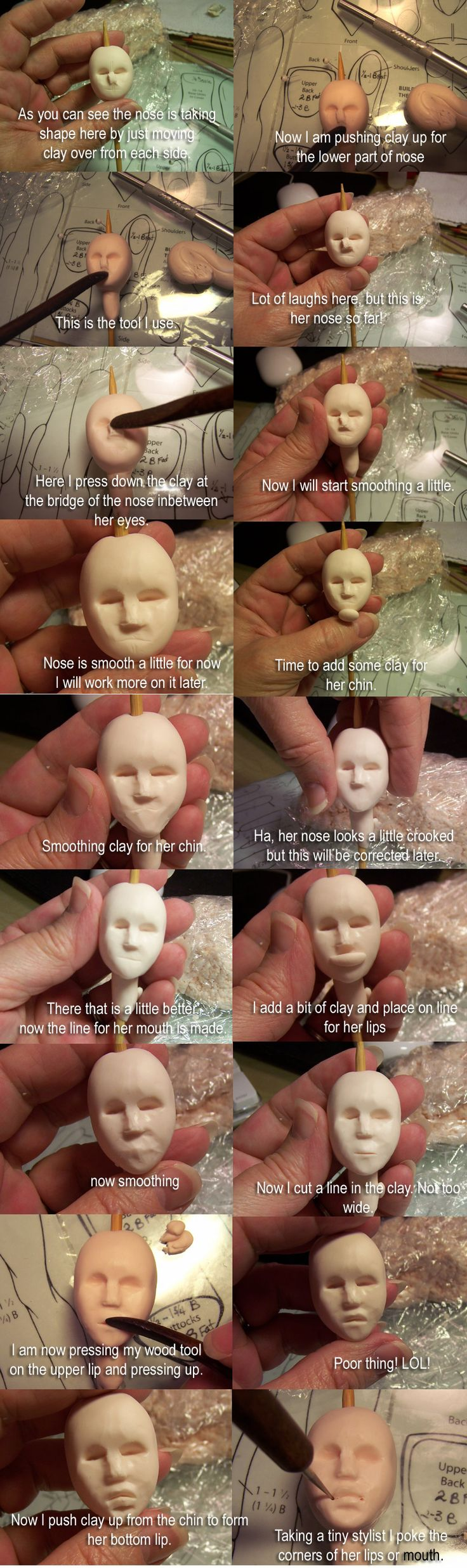 Phyllis Morrow tutorial part 2