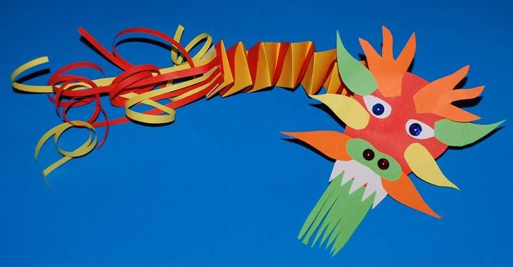 Chinese Dragon made from Paper