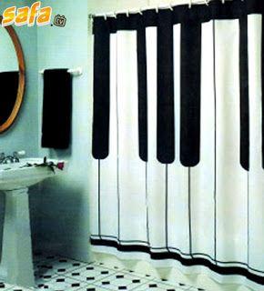 17 mejores im genes sobre cortinas de ba o en pinterest - Cortinas de bano originales ...