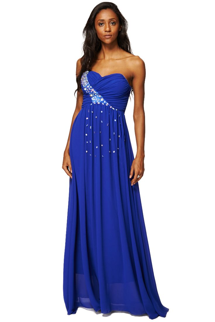 ScottyDirect - Sweetheart Neckline Diamante Embellished Evening Dress, $55.95 (http://www.scottydirect.com/sweetheart-neckline-diamante-embellished-evening-dress/)