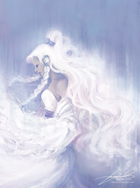 Moon Princess by *tissine on deviantART