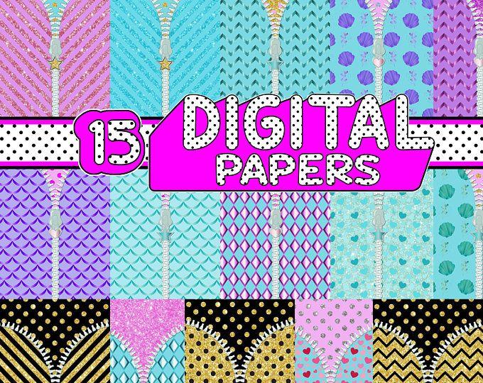 lol surprise digital paper pack instant download