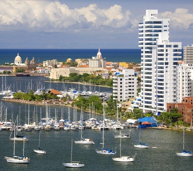 Colombia - Cartagena de Indias, D. T. y C., Bolivar.