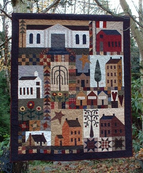 Village Sampler pattern by Country Quilts