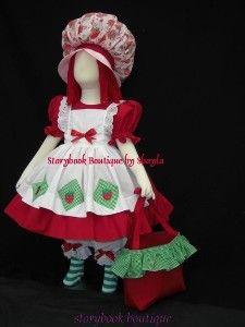 classic strawberry shortcake costume | STRAWBERRY SHORTCAKE...
