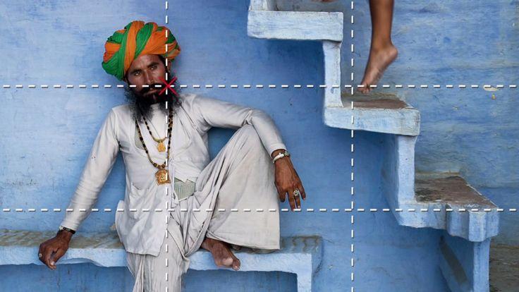 Vídeo apresenta 9 regras simples para melhorar suas fotos de viagem