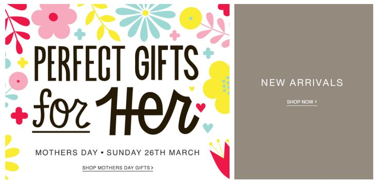 Mother's Day Banner from Matalan #Web #Digital #Banner #Online #Marketing #Home #Fashion #Retail #New #Arrivals #MothersDay #Mothers #Day
