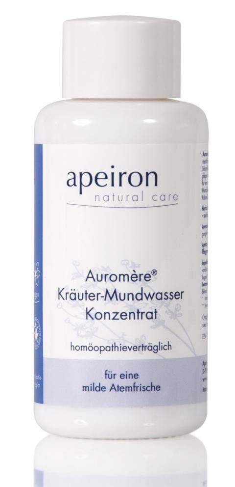 natürliche Pflege Kräuter-Mundwasser Konzentrat -homöopathieverträglich-: Category: Naturkosmetik>Zähne>Mundwasser Item…%#Quickberater%