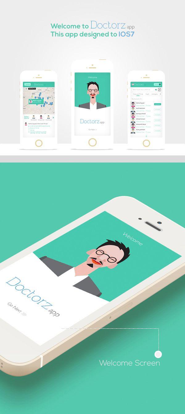 Doctorz Mobile app on Behance