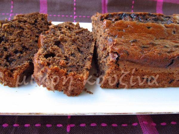 μικρή κουζίνα: Κέικ σοκολάτα-μπανάνα
