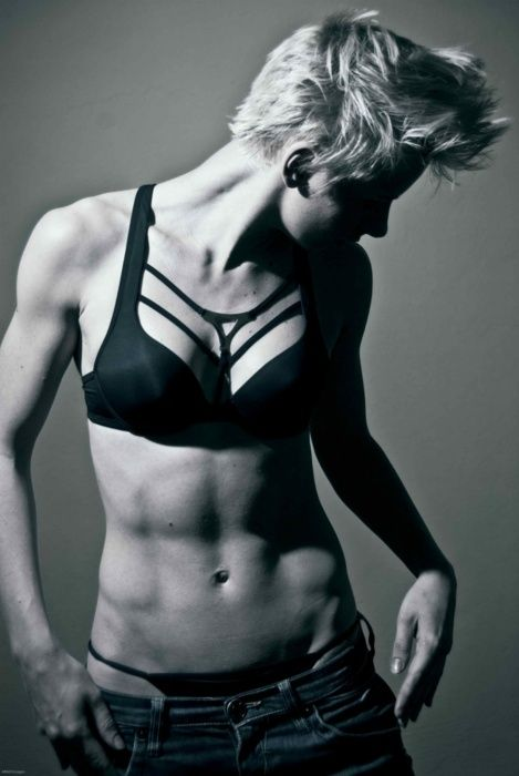 she is in incredible shape #fitness