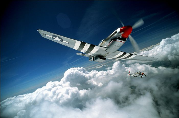 It's go time!!....P51 Mustang