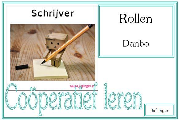 Rollen coöperatief leren - Danbo - Juf Inger