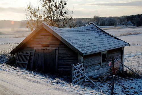 : Barns Covers, Winter Cabin, Illustrations Quotes Photos, Cabin Fun, Creative Photography, Cabin Fever, Abandoned Cottages, Old Cabin, Old Barns