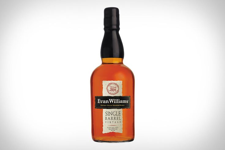 Evan Williams Single Barrel Bourbon. In my collection as of Christmas 2013