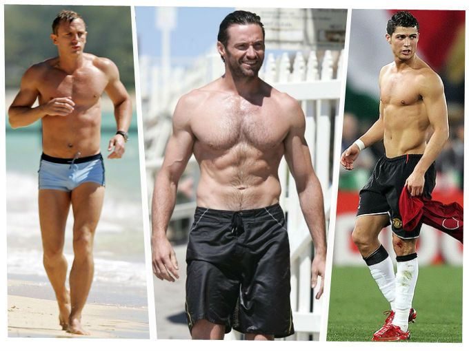 Los famosos más atléticos de todos los tiempos