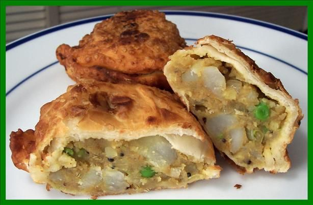 Indian Samosas Recipe Picture