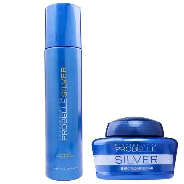 Probelle Silver Anti Amarelamento - Kit 2 produtos - www.novabela.com.br