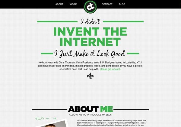 http://www.christhurman.com #webdesign