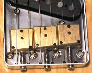 Rockinger Saddles for tele : a buzz bridge for sitar sounds.