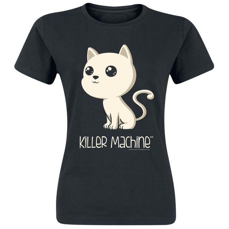 Killer Machine  T-Shirt  »Killer Machine« | Jetzt bei EMP kaufen | Mehr Fun-Merch  T-Shirts  online verfügbar ✓ Unschlagbar günstig!