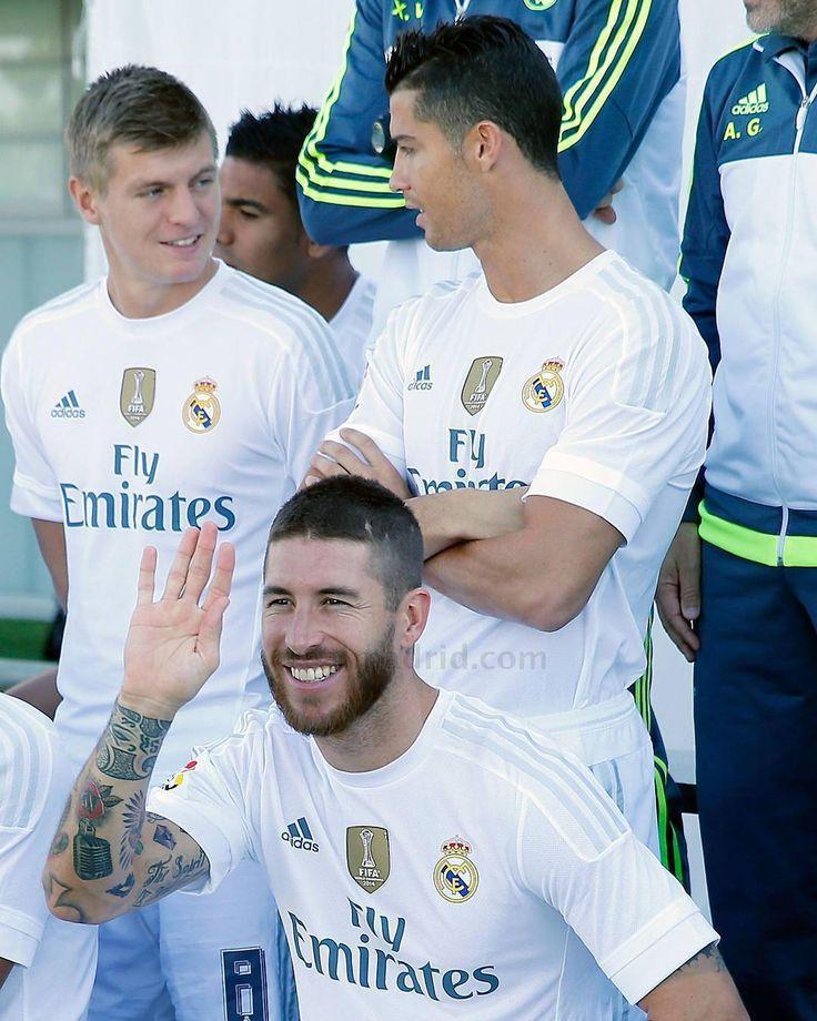 Ramos, Kroos, Ronaldo - Real Madrid