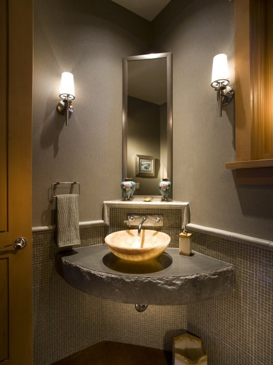 48 best images about corner bathroom sinks on Pinterest Small