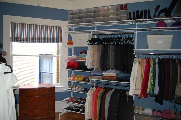 A Renter 39 S Dream Turn A Small Bedroom Into A Closet