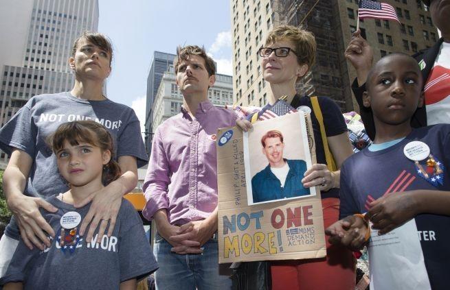 Tremendo! Cientos Marcharon En Nueva York Por El Control De Armas Actual