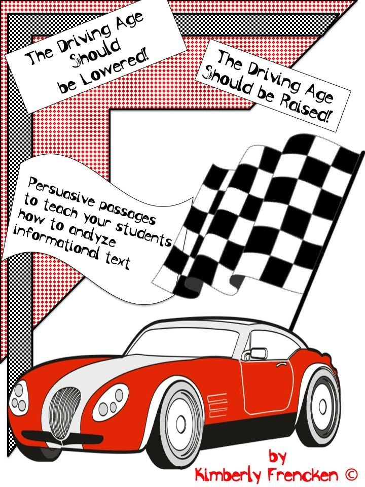Should the driving age be raised or lowered? Your students will analyze facts and opinions in these two flip books to form their own opinion.