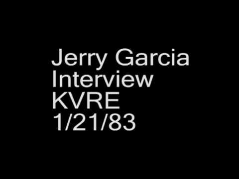 Jerry Garcia interview, KVRE 101.7 FM (Santa Rosa, CA), Jan. 21, 1983.
