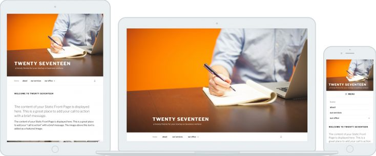 Neues WordPress Standard Theme mit dem nächsten WordPress update – twenty seventeen