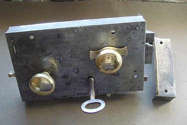 Victorian Front Door Lock Of Circa 1860 Victorian Homes