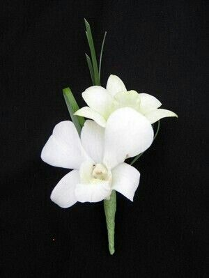Orchid boutoniere