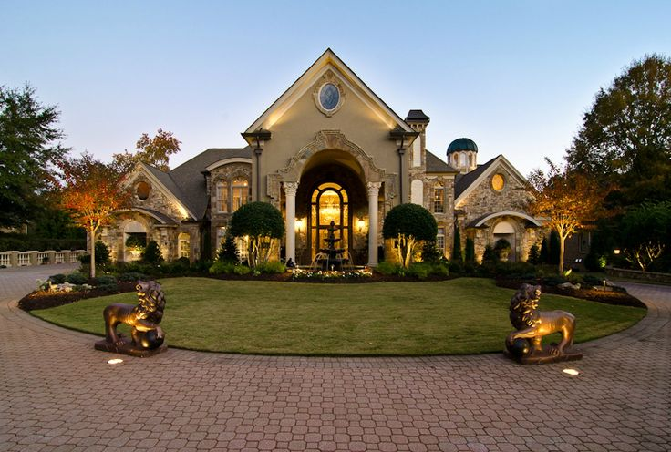 13 000 Square Foot European Style Mansion In Johns Creek