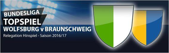 #Bundesliga Relegation - VfL Wolfsburg gegen Eintracht Braunschweig – so lautet die Paarung der diesjährigen Relegation in der Bundesliga. Ein Duell, das aufgrund der räumlichen Nähe der beiden Vereine auch gleich noch als Niedersachsen-Derby gewertet werden kann. Anpfiff für das Spiel ist am 25. Mai um 20:30 Uhr in der Wolfsburger Volkswagen Arena. Unsere Vorschau und aktuelle Wettquoten unter…